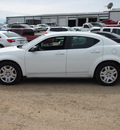 dodge avenger 2012 white sedan se gasoline 4 cylinders front wheel drive automatic 78064