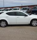 dodge avenger 2012 white sedan se gasoline 4 cylinders front wheel drive automatic 78064