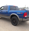 dodge ram 1500 2009 blue trx4 off road gasoline 8 cylinders 4 wheel drive automatic 78064