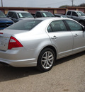 ford fusion 2011 silver sedan sel gasoline 4 cylinders front wheel drive automatic 78064