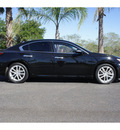 nissan maxima 2009 black sedan 3 5 sv gasoline 6 cylinders front wheel drive automatic 78550