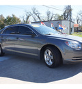 chevrolet malibu 2009 gray sedan ls gasoline 4 cylinders front wheel drive not specified 77515