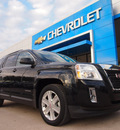 gmc terrain 2010 black suv slt 1 gasoline 4 cylinders front wheel drive automatic 75067