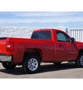 chevrolet silverado 1500 2011 red work truck gasoline 6 cylinders 2 wheel drive automatic 79119
