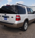 ford expedition 2012 white suv king ranch flex fuel 8 cylinders 2 wheel drive automatic 78861