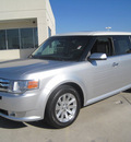ford flex 2010 silver suv sel gasoline 6 cylinders front wheel drive automatic 77578
