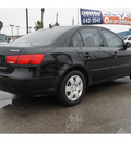 hyundai sonata 2009 black sedan gls gasoline 4 cylinders front wheel drive manual 78521