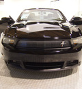ford mustang 2011 black coupe gt premium gasoline 8 cylinders rear wheel drive automatic 75219