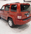 jeep liberty 2010 red suv sport gasoline 6 cylinders 4 wheel drive automatic 75219