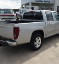 gmc canyon 2012 silver sle 1 gasoline 5 cylinders 2 wheel drive automatic 78130