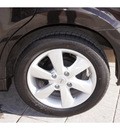 nissan versa 2010 black hatchback 1 8 sl gasoline 4 cylinders front wheel drive automatic 79119