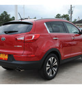 kia sportage 2013 signal red suv sx gasoline 4 cylinders front wheel drive 6 speed automatic 77375