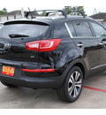 kia sportage 2013 black cherry suv ex gasoline 4 cylinders all whee drive 6 speed automatic 77375