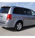 dodge grand caravan 2013 silver van se flex fuel 6 cylinders front wheel drive shiftable automatic 77017