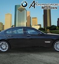 bmw 7 series 2013 black sedan 750i gasoline 8 cylinders rear wheel drive automatic 77002