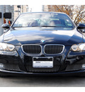 bmw 3 series 2009 black 335i gasoline 6 cylinders rear wheel drive standard 77002
