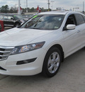 honda accord crosstour 2010 white gasoline 6 cylinders front wheel drive automatic 77301