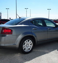 dodge avenger 2012 dk  gray sedan se gasoline 4 cylinders front wheel drive automatic 76011