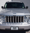 jeep liberty 2011 silver suv limited gasoline 6 cylinders 2 wheel drive automatic 76011