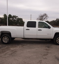 chevrolet silverado 2500hd 2011 white lt diesel 8 cylinders 4 wheel drive automatic 78016