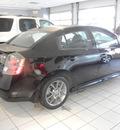 nissan sentra 2012 black sedan se r navi gasoline 4 cylinders front wheel drive automatic 55391