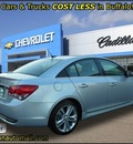 chevrolet cruze 2011 silver sedan ltz with rs leather sunroof gasoline 4 cylinders front wheel drive automatic 55313