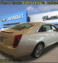 cadillac xts 2013 white sedan platinum collection gasoline 6 cylinders all whee drive automatic 55313
