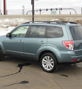 subaru forester 2012 lt  green wagon 2 5x premium gasoline 4 cylinders all whee drive automatic 55420