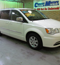 chrysler town and country 2011 white van touring l flex fuel 6 cylinders front wheel drive automatic 44883