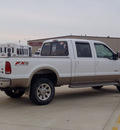ford f 350 super duty 2006 white lariat king ranch diesel 8 cylinders 4 wheel drive automatic 62708