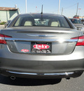 chrysler 200 2013 gray sedan limited flex fuel 6 cylinders front wheel drive shiftable automatic 60915