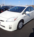 toyota prius 2010 white ii hybrid 4 cylinders front wheel drive automatic 45342