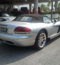 dodge viper 2004 silver srt 10 gasoline 10 cylinders rear wheel drive manual 33157