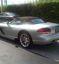 dodge viper 2004 silver srt 10 gasoline 10 cylinders rear wheel drive manual 33157
