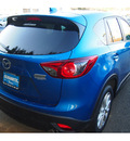 mazda cx 5 2013 lt  blue grand touring gasoline 4 cylinders all whee drive automatic 07702