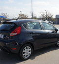 ford fiesta 2013 gray hatchback se gasoline 4 cylinders front wheel drive automatic 76205