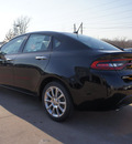 dodge dart 2013 black sedan limited gasoline 4 cylinders front wheel drive automatic 76210