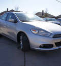 dodge dart 2013 silver sedan limited gasoline 4 cylinders front wheel drive automatic 76210