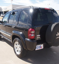 jeep liberty 2006 black suv limited gasoline 6 cylinders 4 wheel drive automatic 76108