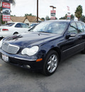 mercedes benz c class 2002 blue wagon c320 gasoline 6 cylinders rear wheel drive automatic 92882