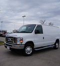 ford e series cargo 2012 white van e 250 flex fuel 8 cylinders rear wheel drive automatic 76205