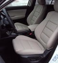 mazda cx 5 2013 white grand touring w sunroof w navi gasoline 4 cylinders front wheel drive automatic 32901