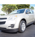 chevrolet equinox 2013 silver ls gasoline 4 cylinders front wheel drive automatic 33177