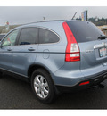 honda cr v 2009 lt  blue suv ex l w navi gasoline 4 cylinders all whee drive automatic 98632