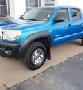 toyota tacoma 2009 lt  blue prerunner v6 gasoline 6 cylinders 2 wheel drive automatic with overdrive 77802