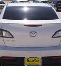 mazda mazda3 2010 white sedan i touring gasoline 4 cylinders front wheel drive automatic 77043