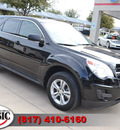 chevrolet equinox 2010 black suv ls gasoline 4 cylinders front wheel drive automatic 76051