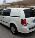 ram c v 2013 white van tradesman flex fuel v6 front wheel drive shiftable automatic 76087