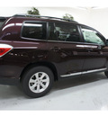 toyota highlander 2013 dk  red suv plus gasoline 6 cylinders front wheel drive automatic 91731