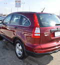 honda cr v 2011 red suv lx gasoline 4 cylinders all whee drive automatic 46219